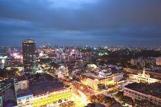 Alive at night - Ho Chi Minh City Vietnam