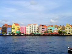 Curacao.  One pretty island in the Caribbean.  :-)
