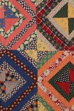 love this antique quilt block