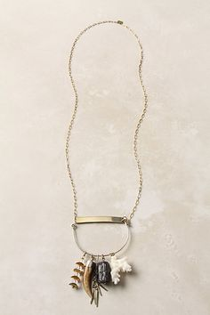@Michelle Stambaugh  find some little trinkets, get yourself a length of chain, and you have a beautiful necklace :)