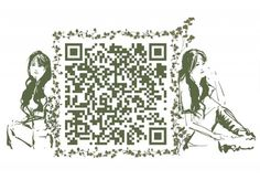 #QR #イラスト #アート #ウェブ #宣伝 #広告 #ホームページ #新奇性 #デザイン #Illustration  #art #web #publicity #advertisement #home page #novelty #design