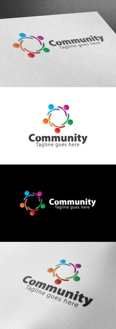 Community Logo. Logo Templates. $28.00