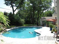 Pool; backyard