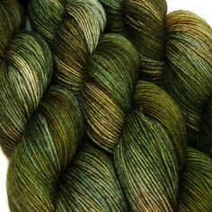 FANGORN Lord of the Rings hand dyed sock yarn 75/25 sw wool/nylon 3.5oz 460 yards