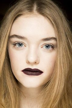 A detailed look at the beauty backstage at Rodarte's Fall 2016 fashion show