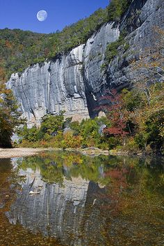 Roark Bluff Reflections, Buffalo River National Park, Arkansas