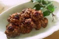 Zdravé vaření: Skořicové hrudky s brusinkami Chicken, Meat, Ethnic Recipes, Food, Essen, Meals, Yemek, Eten, Cubs
