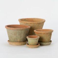 Terrain Linen Wrapped Pots