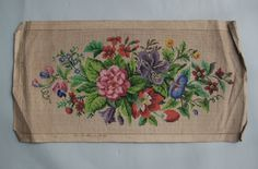 A Berlin WoolWork Floral Pattern Produced By C Meder In Berlin