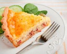 Quiche lorraine légère au fromage blanc (facile, rapide) - Une recette CuisineAZ