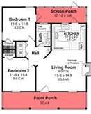 High Resolution House Plans Under 800 Sq Ft #4 House Plans Under 800 Sq Ft