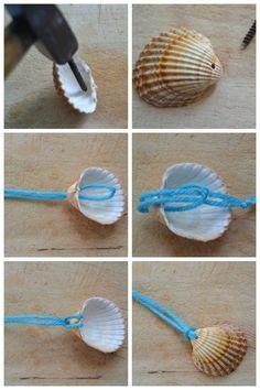 Seashell Painting, Seashell Art, Seashell Crafts, Seashell Wind Chimes, Dot Painting, Seashell Projects, Sea Crafts, Plate Crafts, Painted Shells