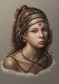 f Druid Leather Armor portrait lg Fantasy Women, Fantasy Rpg, Fantasy Girl, Fantasy Portraits, Character Portraits, Character Art, Dnd Characters, Fantasy Characters, Female Characters
