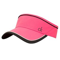 ed0f882d0d1 UK Golf Gear - Calvin Klein Ladies Crete Visor CK Golf Sun Cap Sun Cap
