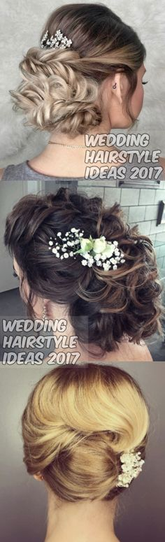 Wedding hairstyle ideas.  Courtesy : instagram  visit : chicraze.com for more.