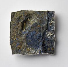 Per Suntum - Dive # 2 Brooch 2005. Silver, niello, enamel. Private collection