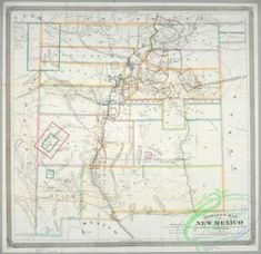 antique_maps-02321 - Morley's map of New Mexico  -