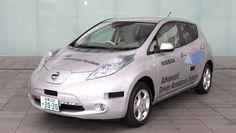 NISSAN LEAF ELECTRIC CAR image3