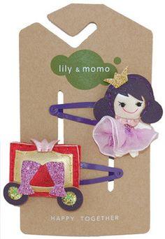 Lily & Momo Cinderella Hair Clip