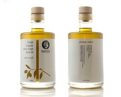 KARNOS organic olive oil on Packaging Design Served