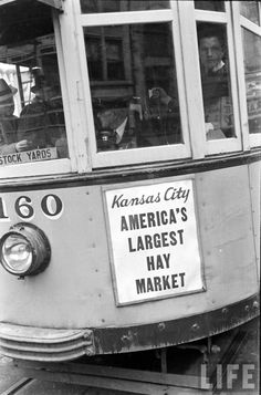 "Kansas City, ""America's Largest Hay Market""  1938"
