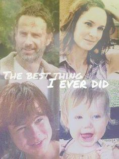 Grimes family The Walking Dead