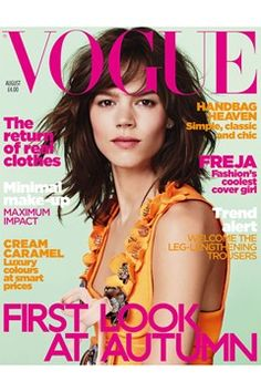 Fashion Magazine Covers - Online Archive for Women (Vogue.com UK) AUGUST 2010
