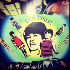 Mural depicting Film Stars of the 1960s in the Philippine National Film Museum