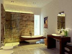 cooles badezimmer mit asiatischer deko