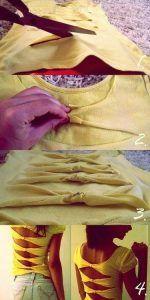Cómo customizar camisetas - Cómo hacer tu propia ropa paso a paso - Camisetas personalizadas - Personalizar camisetas fácilmente - Reciclar ropa - DIY ropa
