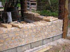 Image result for lime mortar cordwood