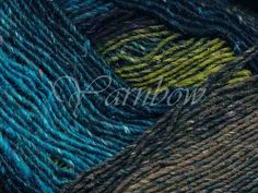 Noro Silk Garden 211 - Blue-Magenta-Green-Brown