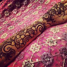 Arabian styles henna