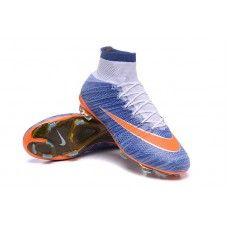 8704aa0f49ec Nike Mercurial Superfly FG Racing Blue Orange cheap football shoes Cheap  Football Shoes