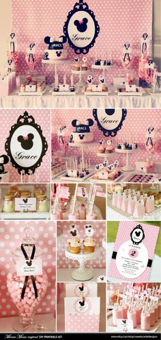 decoracao-minnie-festa-aniversario-rosa