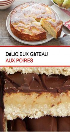 Délicieux gâteau aux poires