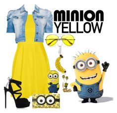 """""""Minion Yellow"""" by nika-love ❤ liked on Polyvore"""