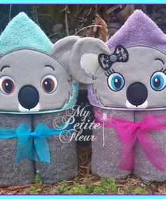 4 x 4 Mrs Mouse Non Design with Hands Machine Embroidery Patterns, Embroidery Files, Koala Craft, Hooded Bath Towels, Baby Shower, Love Sewing, Baby Gifts, 3 D, Sewing Projects