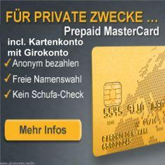 GB Konto ohne Schufa Girokonto + edel hochgeprägte  Mastercard KOSTENLOS- 100 % keine Ablehnung-