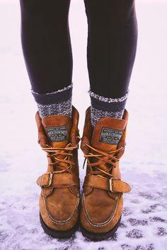Ralph Lauren boots. #hikingboots
