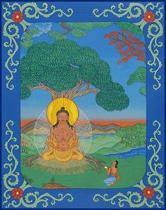 "The Fasting Buddha by Peter ""Zotec"" Newman ©2013 www.artzotec.com"