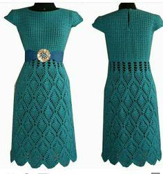 Crochet Skirts, Crochet Cardigan, Knit Or Crochet, Cute Crochet, Crochet Clothes, Clothing Patterns, Dress Patterns, Crochet Patterns, Crochet Dishcloths