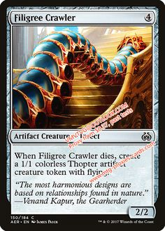 Filigree Crawler.xlhq Magic the Gathering Proxy mtg proxies cards all available from $0.37 visit www.mtg-proxies-cards.com email vmvtvg@outlook.com
