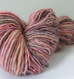 Handspun Polwarth Wool by OnTheRound