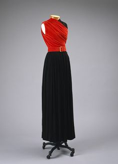 Claire McCardell: Evening gown (1997.511a-d) | Heilbrunn Timeline of Art History | The Metropolitan Museum of Art