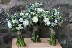 For more details please contact The Stockbridge Flower Company, Edinburgh. Rustic Bouquet, Rustic Flowers, Scottish Flowers, Flower Company, July Wedding, Spring Bouquet, Rustic Chic, Purple Flowers, Rustic Wedding