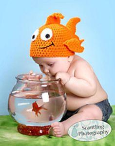 George th4e Goldfish ~ free pattern ᛡ