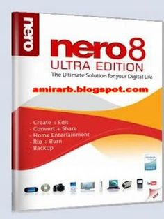مدونة أمير العرب blog amir arab: NERO 8.3.2.1 أخف نسخ النيرو على الإطلاق بـ SERIAL + 22MB