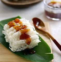 Sagu Rangi with Liquid Brown Sugar