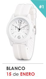 Reloj blanco Bracelet Watch, Watches, Bracelets, Accessories, Fashion, White Watches, Style, Moda, Fashion Styles